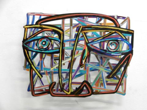 David Gerstein GRAFFITI FACE 1