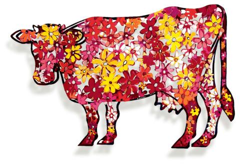 David Gerstein FLORAL COW