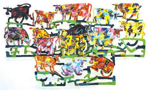 David Gerstein SILLY-COWS VALLEY