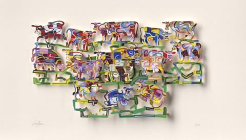 David Gerstein SILLY-COWS VALLEY p